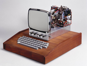 An Original Apple I With Custom Case, Keyboard, and Monitor