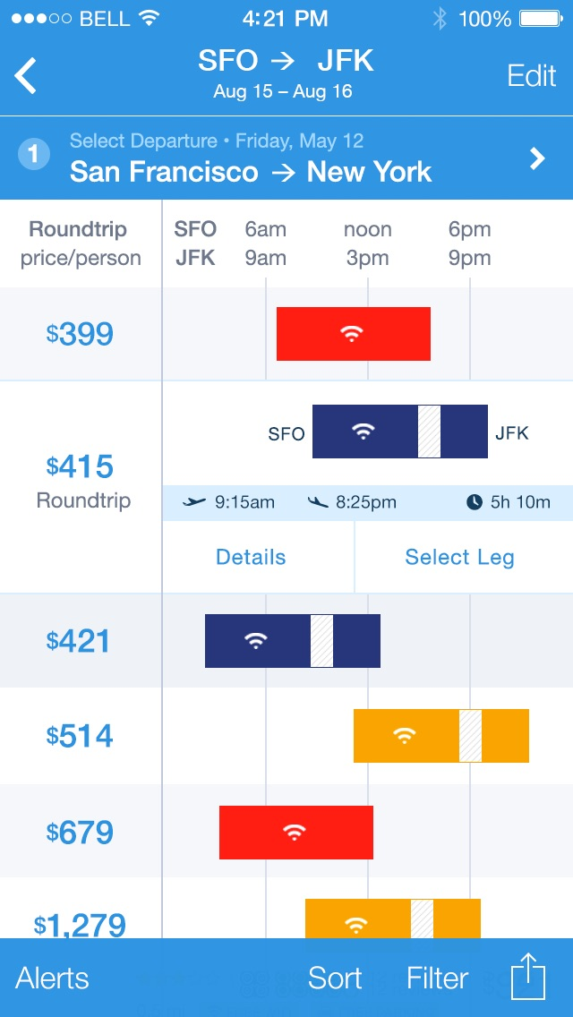 2-flights-list