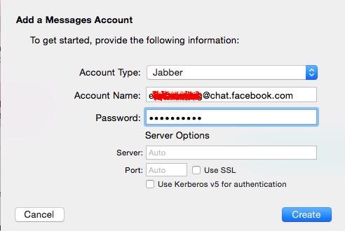 Mac Facebook Messages 2