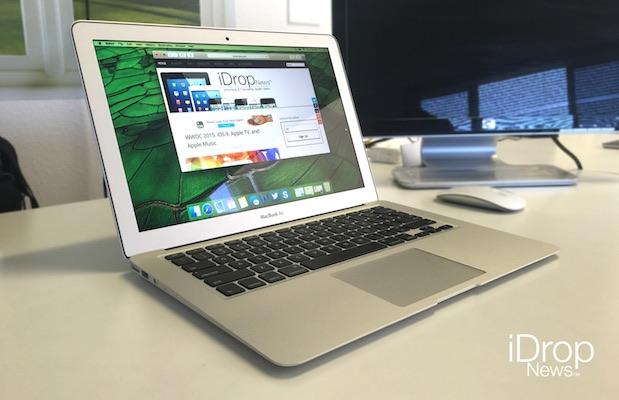 iDrop News OS X 10.11 Macbook air