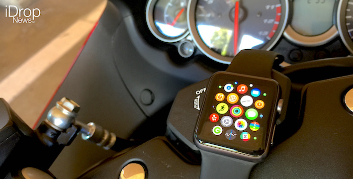new motorcycle apple watch