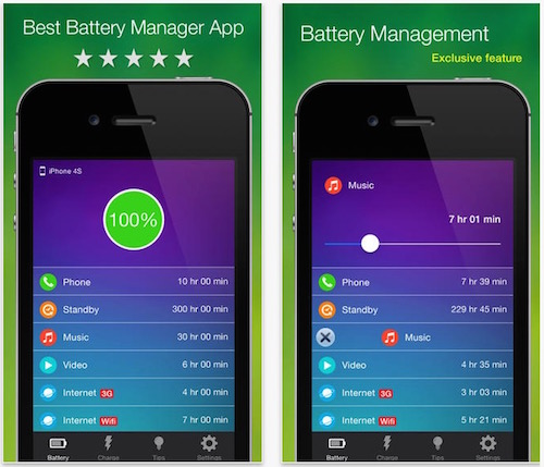 3 battery manager app