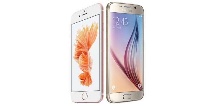 Apple iPhone 6s vs. Samsung Galaxy S6