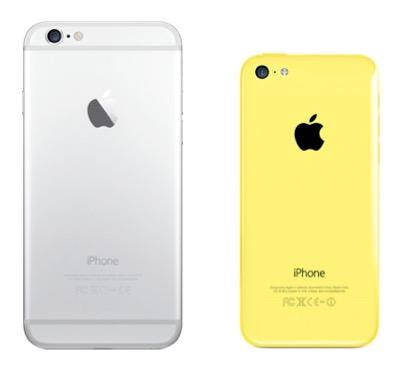 iPhone 6 vs. 5c
