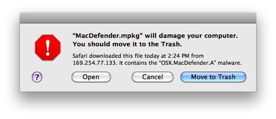OS X: File To Trash